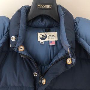 "Crescent Downworks Jackets & Coats - Crescent DownWorks ""Sweater Jacket"" Size Medium"